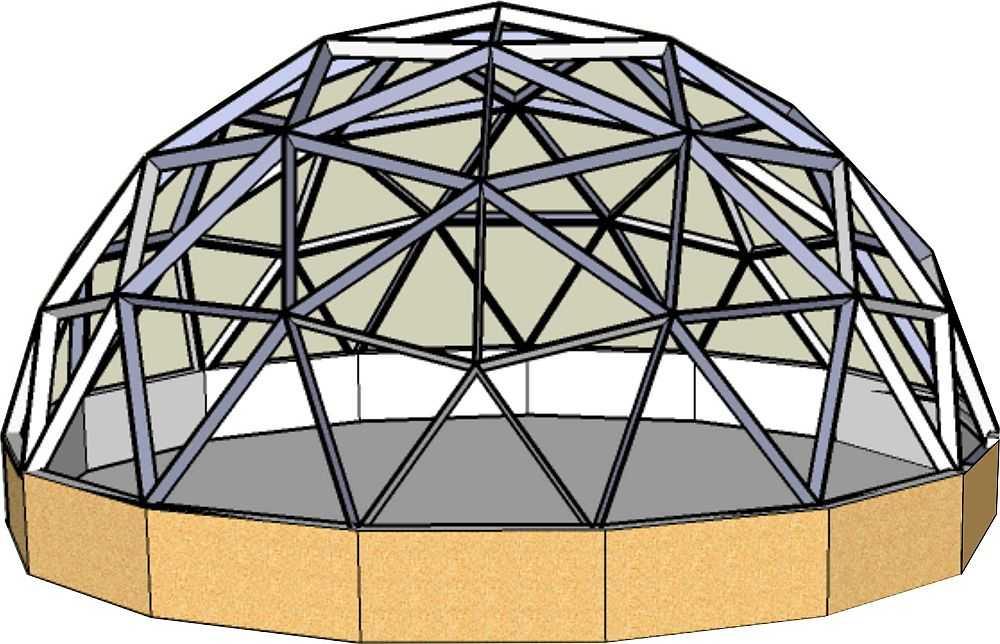 Геокупольная кнструкция - фантастическое решение для современников