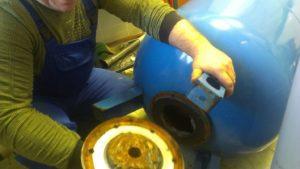 Ремонт и профилактика гидроаккумулятора