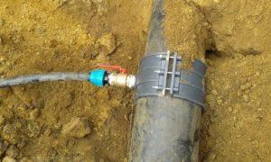 Подключение к водопроводу