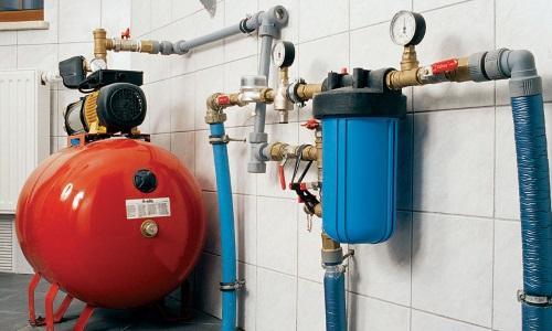 В помещении с насосной станцией обязательно должна быть система сбора воды