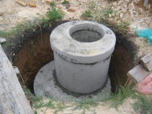 Материал изготовления из железобетона канализационные колодцы