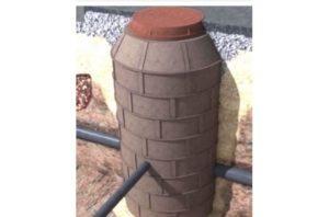 Полимерный канализационный колодец