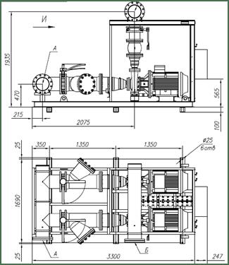 Насосные агрегаты и станции FAHC