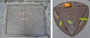 Люки для канализации необычной формы
