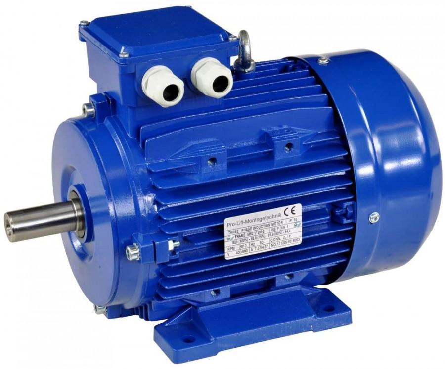 Маленькая мощность электродвигателя