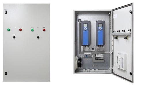 Управлять водопроводом можно из технического шкафа