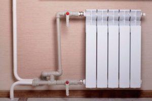 Монтаж для отопления полипропиленовых труб