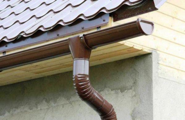 Отлив на крыше