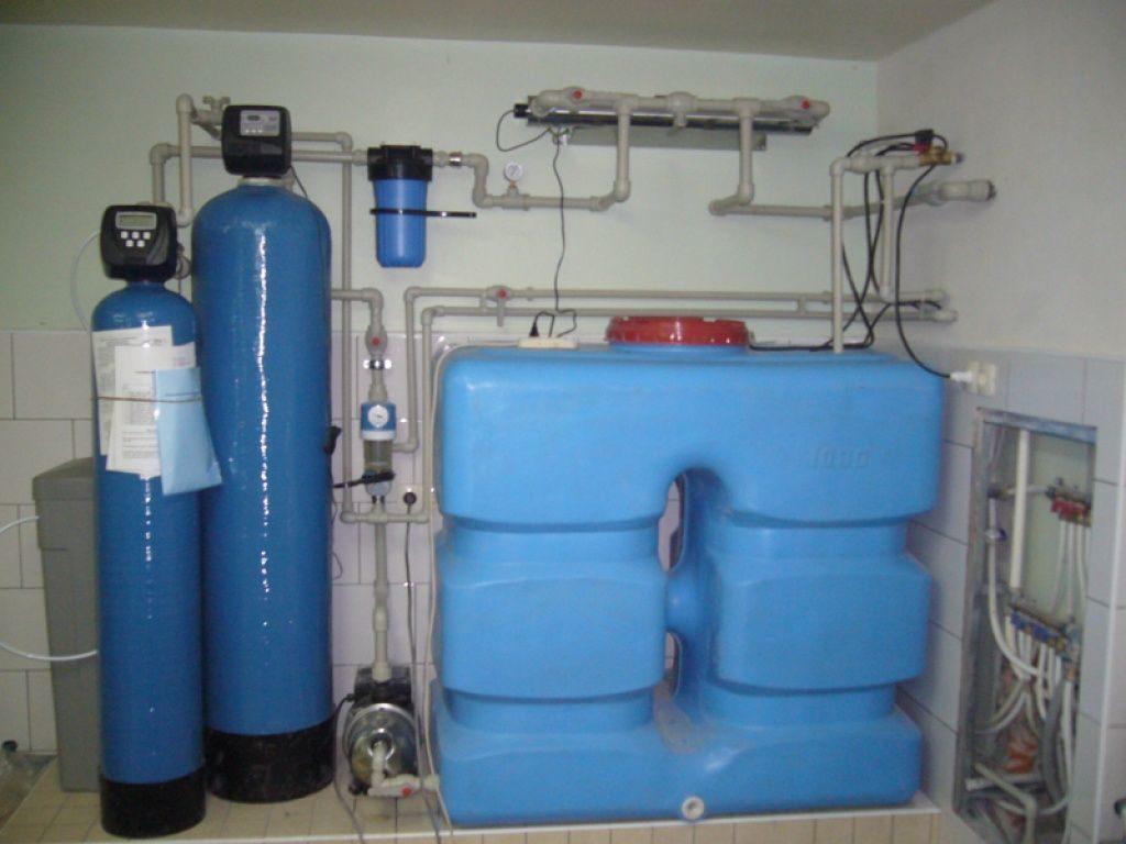Накопительная емкость для колодезного водоснабжения