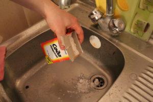 Содой прочистка раковины