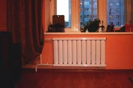 Пример подключения биметаллических радиаторов