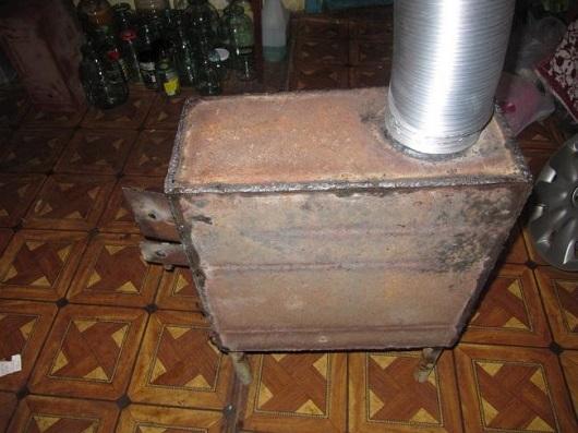 Готовый отопительный агрегат для гаража