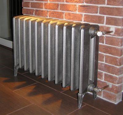 Необычный чугунный радиатор