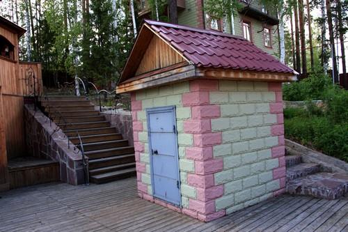 Капитальный домик для скважины