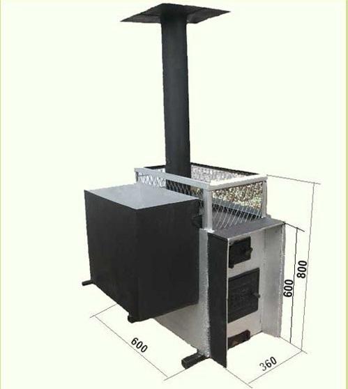 Отопительный агрегат для бани