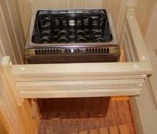 Мини-печь для бани