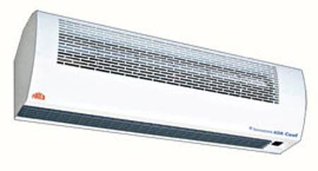 Пример тепловой завесы