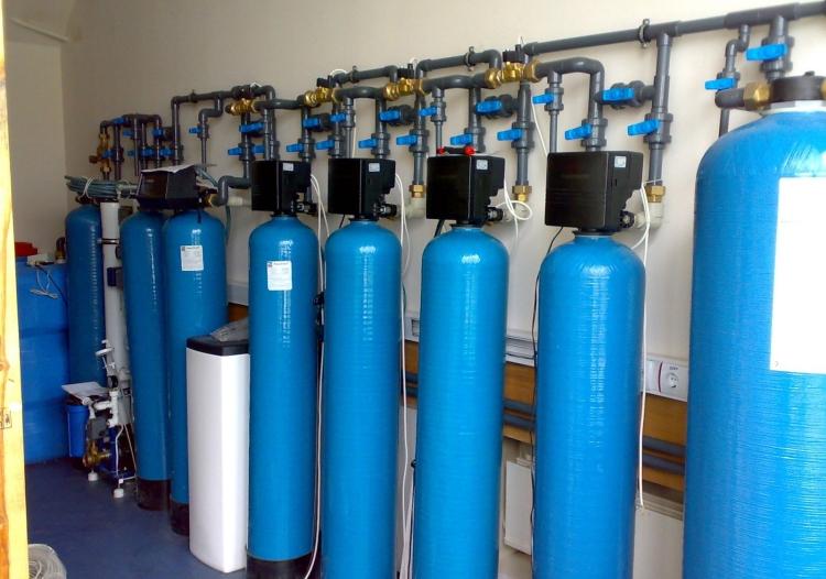 Мощная установка фильтрации воды