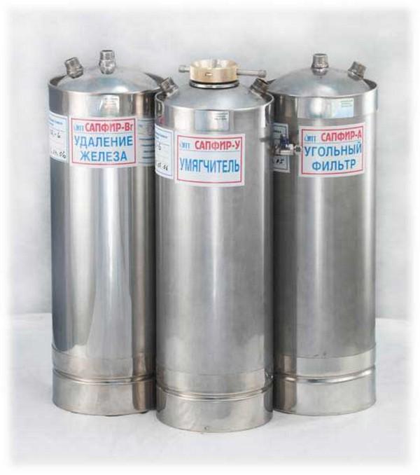 Семейстов фильтров для воды Сапфир