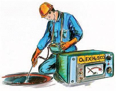 Применение газоанализатора