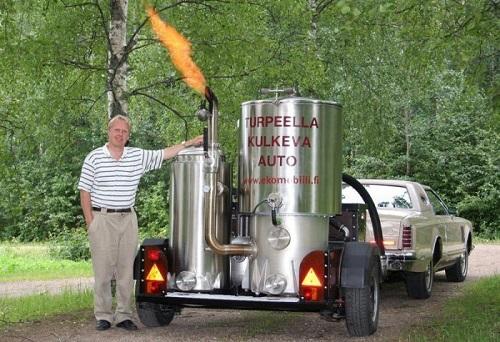 Пример газогенератора для авто