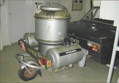Мобильный газогенератор