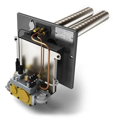 Пример газовой горелки с автоматикой