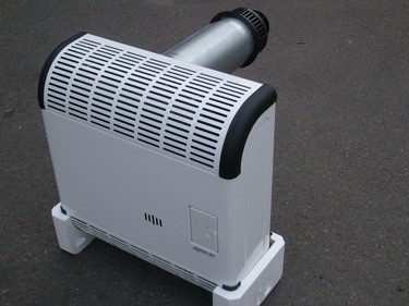 Пример газового конвектора