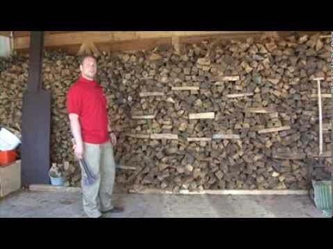 Заранее заготовленные дрова