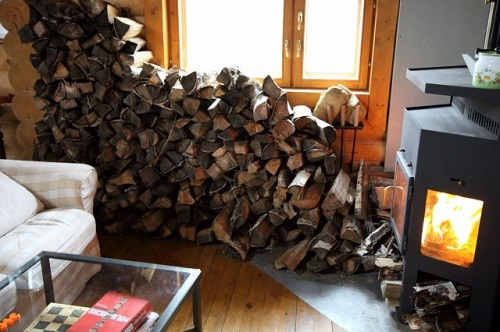 Заготовка сухих дров