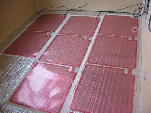 Электрический теплый пол (инфракрасный)