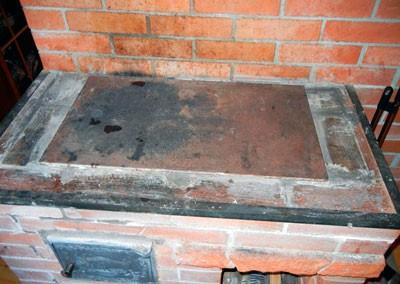 Отопительный агрегат с варочной плитой