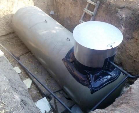 Подземное сооружение для воды