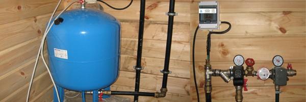 Водоснабжение дома с водным аккумулятором