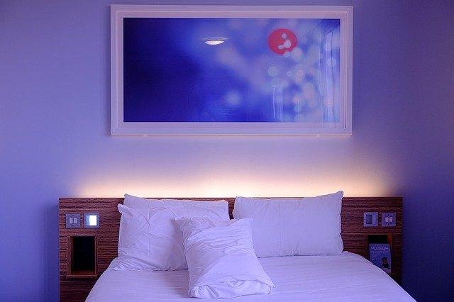 Кровать. Имитация дерева