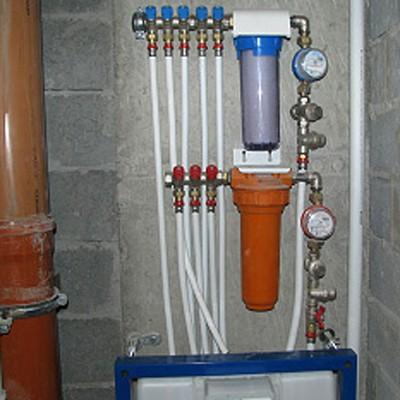 Фильтры на холодной и горячей воде