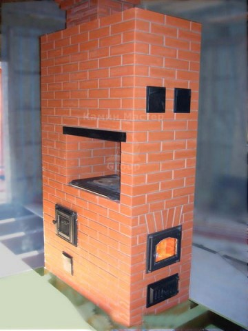 Отопительный агрегат - печь Волкова