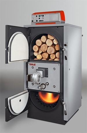 Модель печи на твердом топливе длительного горения