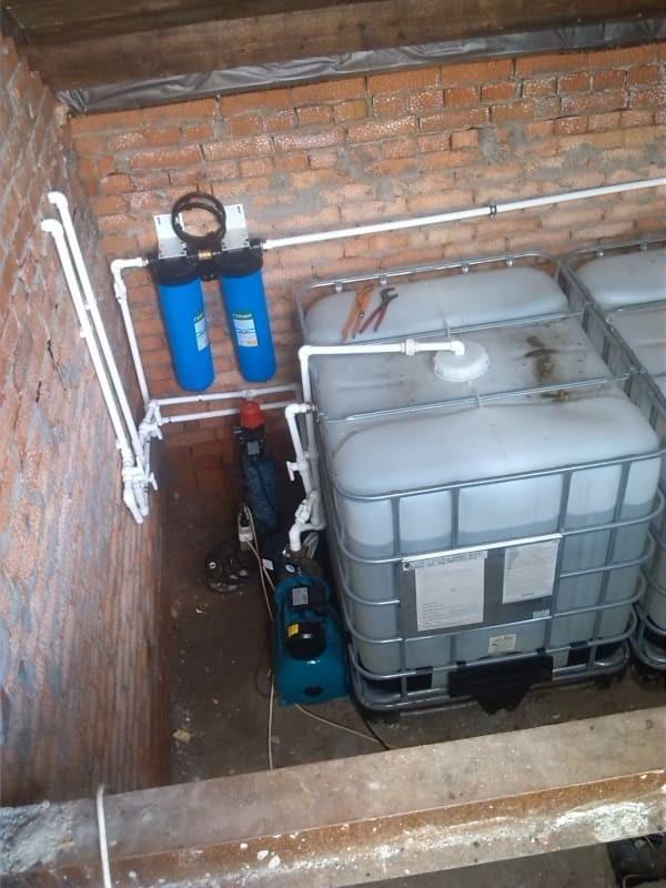 Установка оборудования в подвале