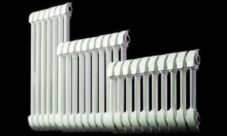 Различные размеры радиаторов