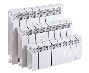 Различные размеры биметаллических радиаторов