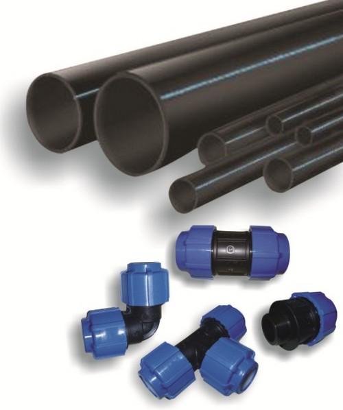 Пластиковые трубы и переходники