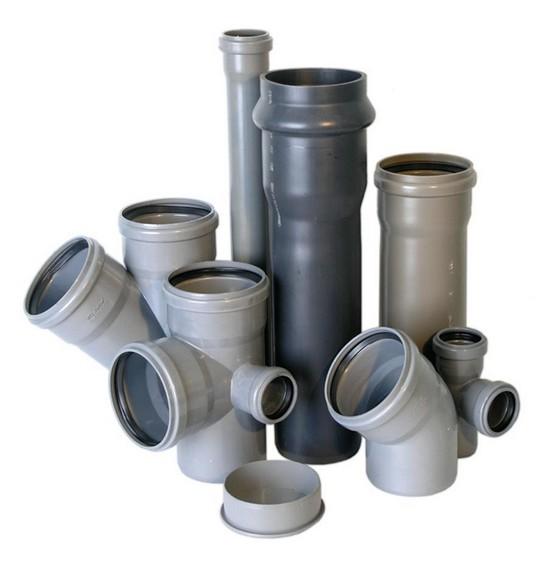 Элементы системы внутренней канализации