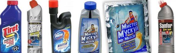 Промышленные средства для прочистки