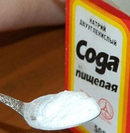 Сода поможет очистить трубы