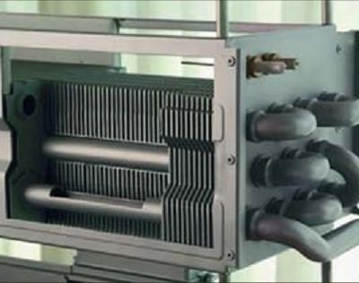 Пример чугунного теплообменника