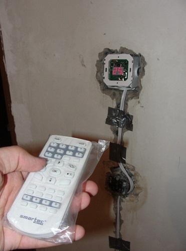 Терморегулятор с возможностью дистанционного управления