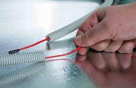 Процесс установки терморегулятора