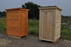 Деревянные туалеты