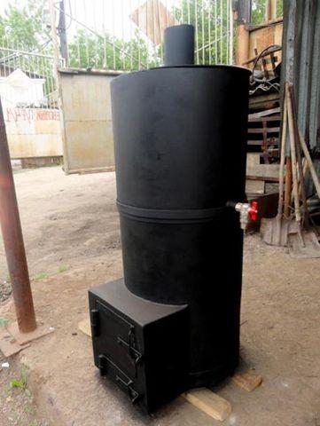 Пример котла цилиндрического типа